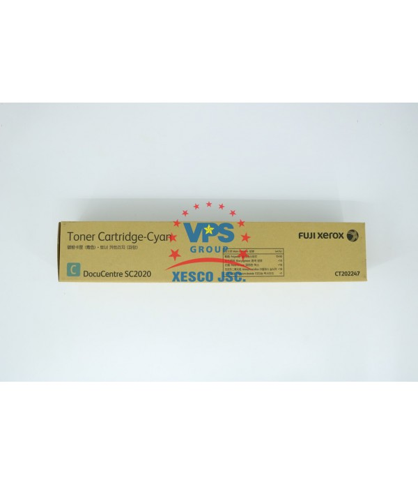 Toner Cartridge DC SC2020 (CYAN)
